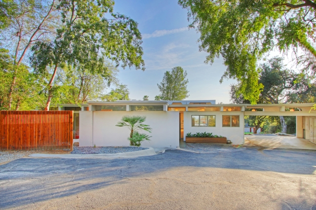 Mid Century Compound in Altadena Front